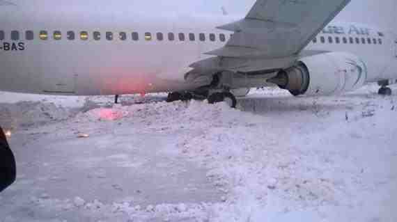 Boeing 737-400-YR-BAS-Incident