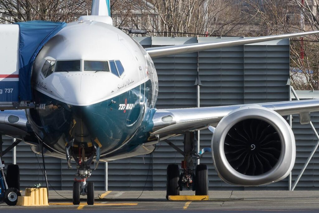Boeing 737-MAX First Flight