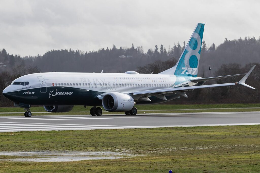 Boeing 737-MAX First-Vuelo