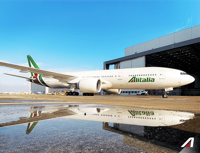 Boeing 777-Alitalia