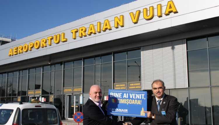 Aeroportul Timişoara în 2016: Creștere semnificativă a traficului de pasageri