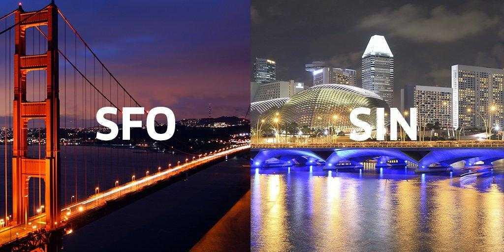 SFO-SIN-UNITED