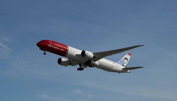 Primul Boeing 787-9 pentru Norwegian