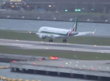 Alitalia-runway-at-London-City-Airport