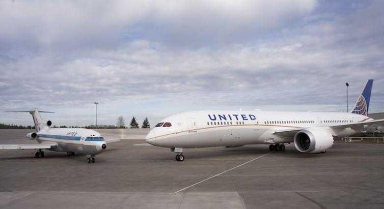 Boeing-727-N7001U-vs-Boeing-787
