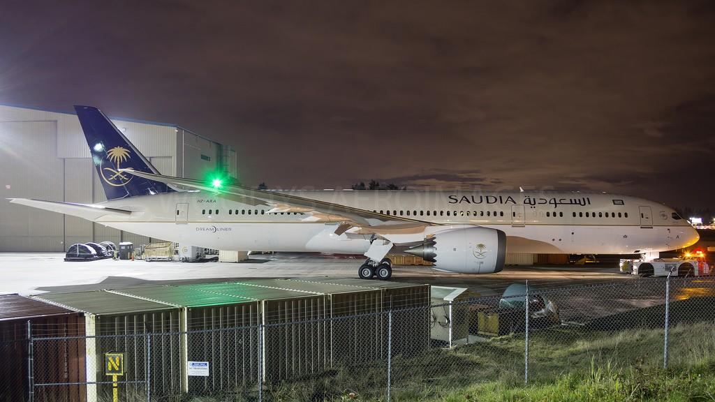 Boeing 787-9 Saudita