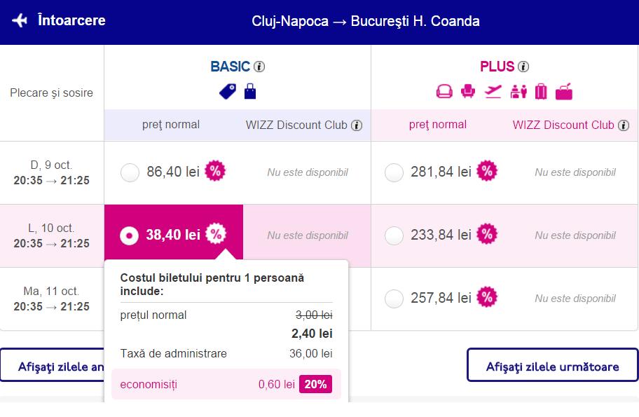 Bucuresti-Cluj-WizzAir-discount-20