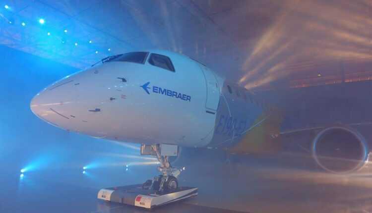 (Video) Primul Embraer E190-E2 a fost prezentat