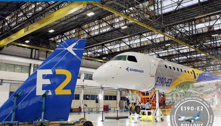 (Video) Embraer E190-E2 – video de prezentare în faza de asamblare