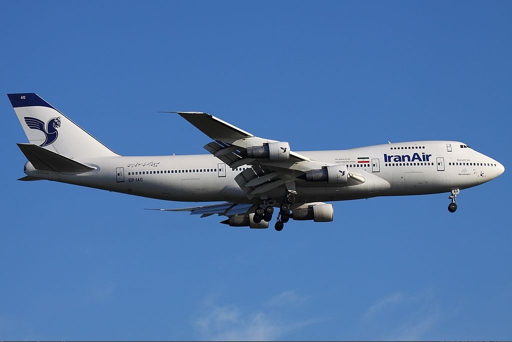 Iran-Air-Boeing-747-200