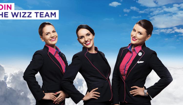 Angajări Wizz Air: însoţitori de bord în Bucureşti şi Cluj