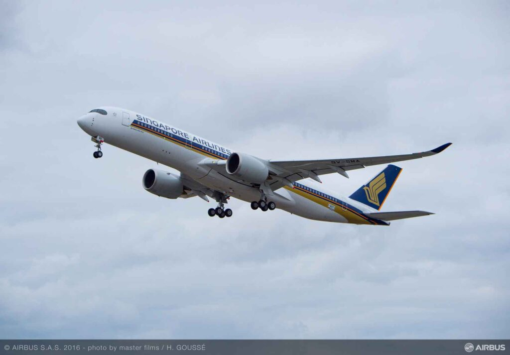 Singapore-Airlines-first-A350-900