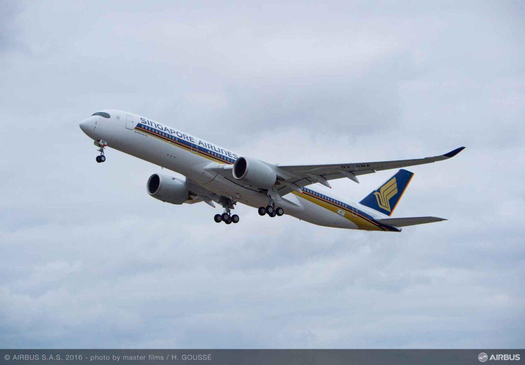 Singapur-Havayolları-first-A350-900