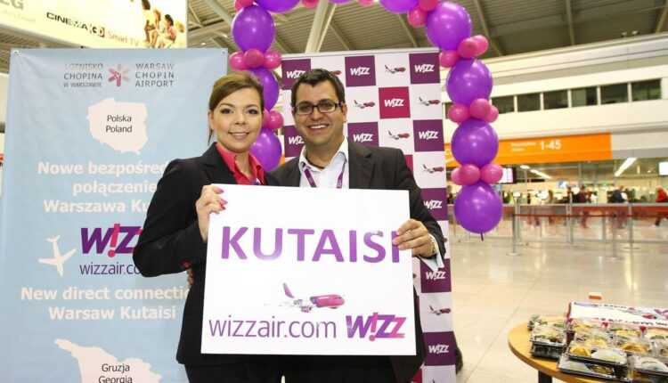 Wizz Air deschide bază la Kutaisi / 7 rute noi