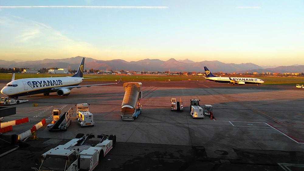 Ryanair la Milano Bergamo