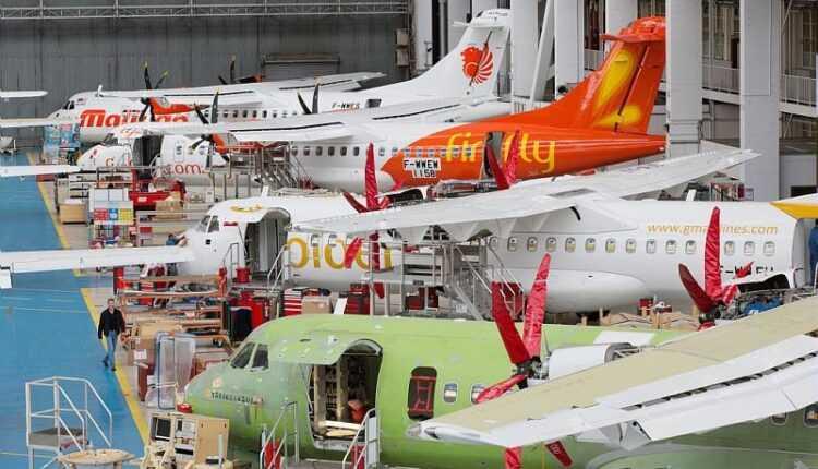 ATR a înregistrat 2 miliarde de dolari cifră de afaceri în 2015 / Record şi la livrat avioane