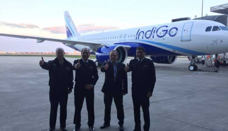 Primul Airbus A320neo pentru IndiGo (foto)