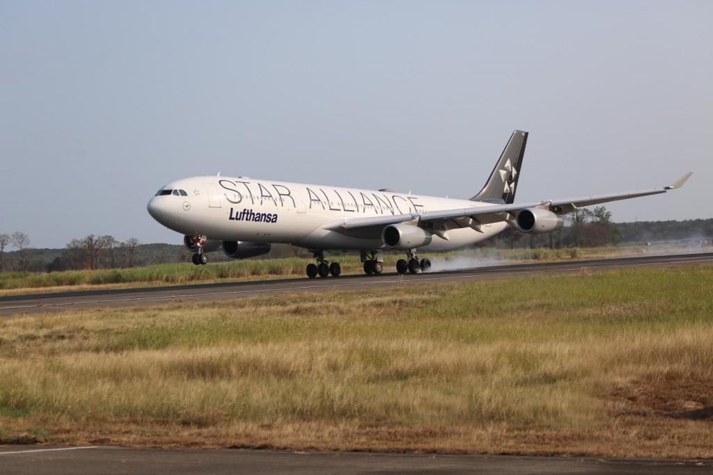 A340-300-Lufthansa Frankfurt-Panamá