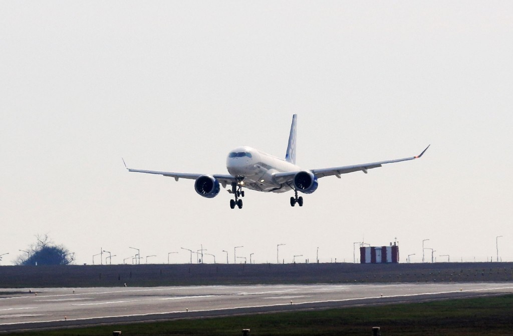 Bombardier-CS100 Budapest