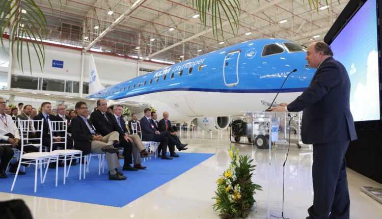 Primul Embraer E175+ pentru KLM Cityhopper
