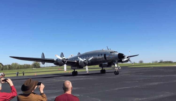 Primul Air Force One, Columbine II, zboară din nou