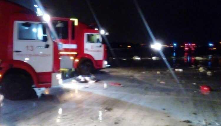 (Video) Accident aviatic în Rusia cu 62 de victime. Boeing 737-800 FlyDubai (A6-FDN) s-a prăbuşit la aterizare