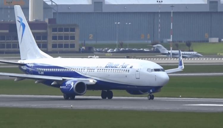 Zbor inaugural: Blue Air a aterizat la Hamburg