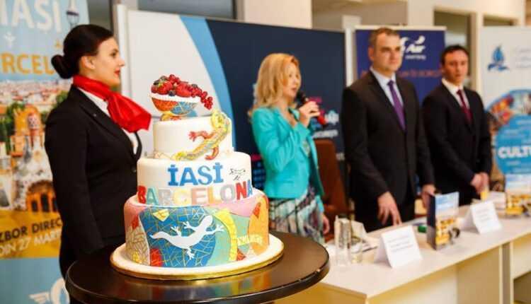 Zborul inaugural: IAŞI – Barcelona cu Blue Air