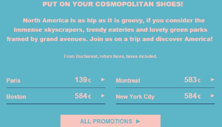 [Oferta Air France] Bucureşti – Paris de la 139 EURO (dus-întors)