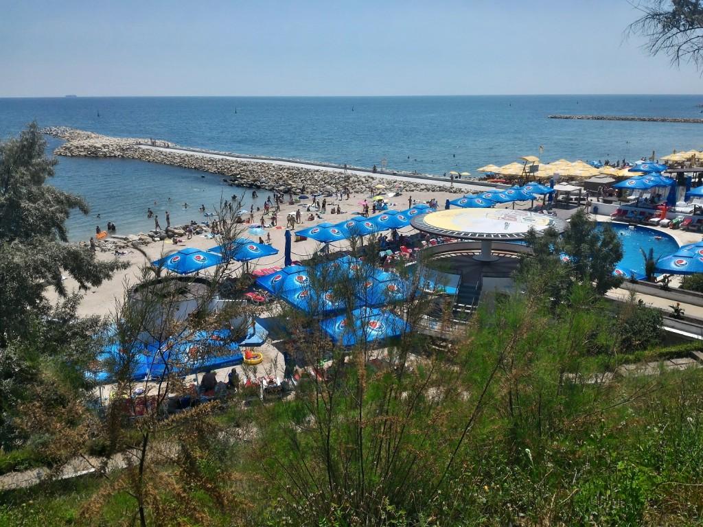 пляж побережья румыния-1