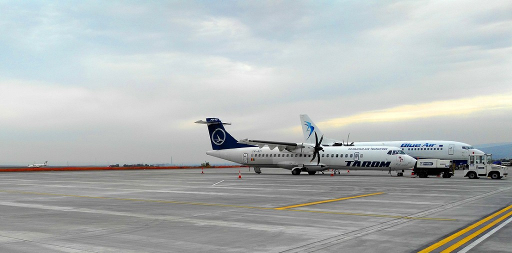 plate-forme aéroport-Iasi
