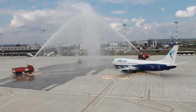 Zborul inaugural: SIBIU – KOLN cu Blue Air