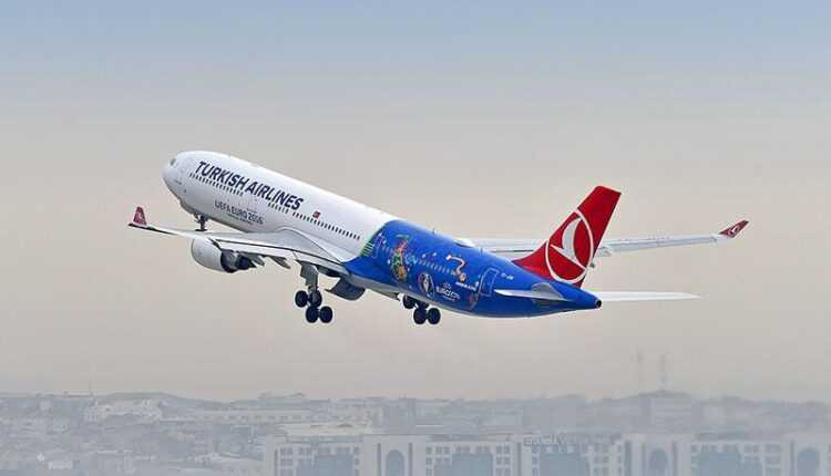 """EURO 2016: Airbus A330-300 Turkish Airlines în livery """"EURO 2016"""" (Video)"""
