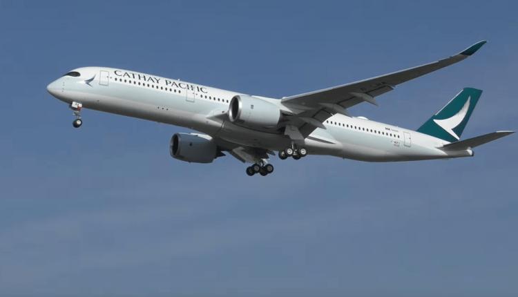 (Video) Airbus A350 XWB Cathay Pacific la primul zbor