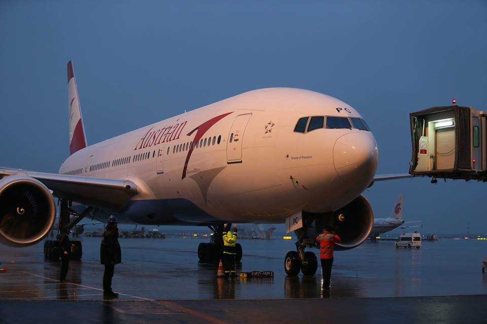 Austrian-Airlines-Shanghai