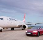 Boeing-737-Qantas-vs-Tesla-Model-S