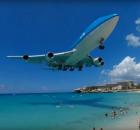 boeing-747-klm-SXM-landing