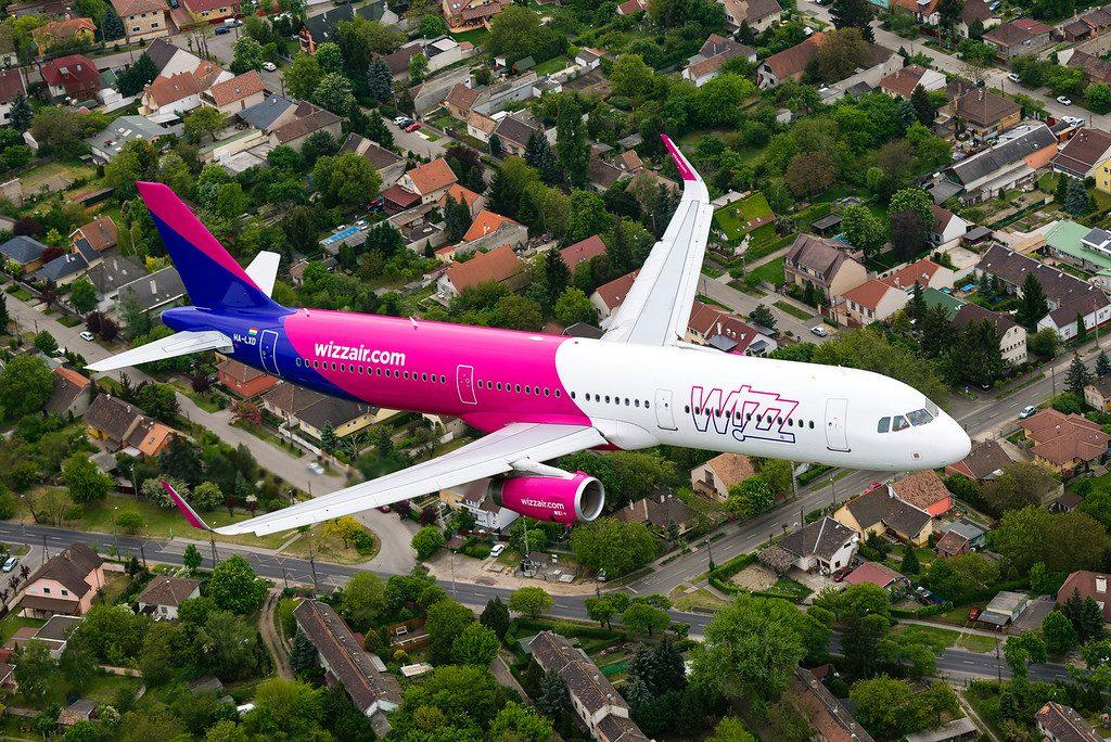 Airbus A321-Wizz-Air-Air-Show-2016 Будапешт