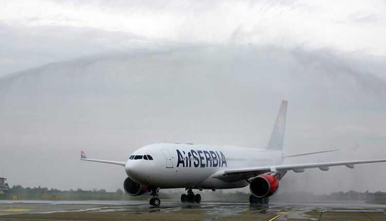 Primul Airbus A330-200 Air Serbia a ajuns la Belgrad