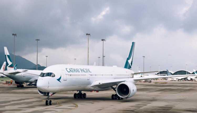 Primul Airbus A350 XWB Cathay Pacific, la Hong Kong