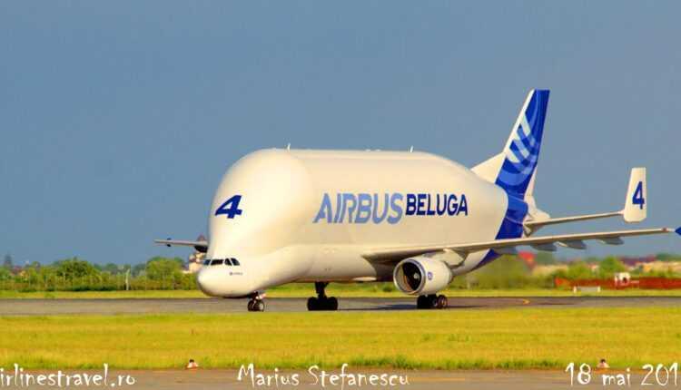 Airbus Beluga la Bucureşti / Informaţii tehnice (foto)