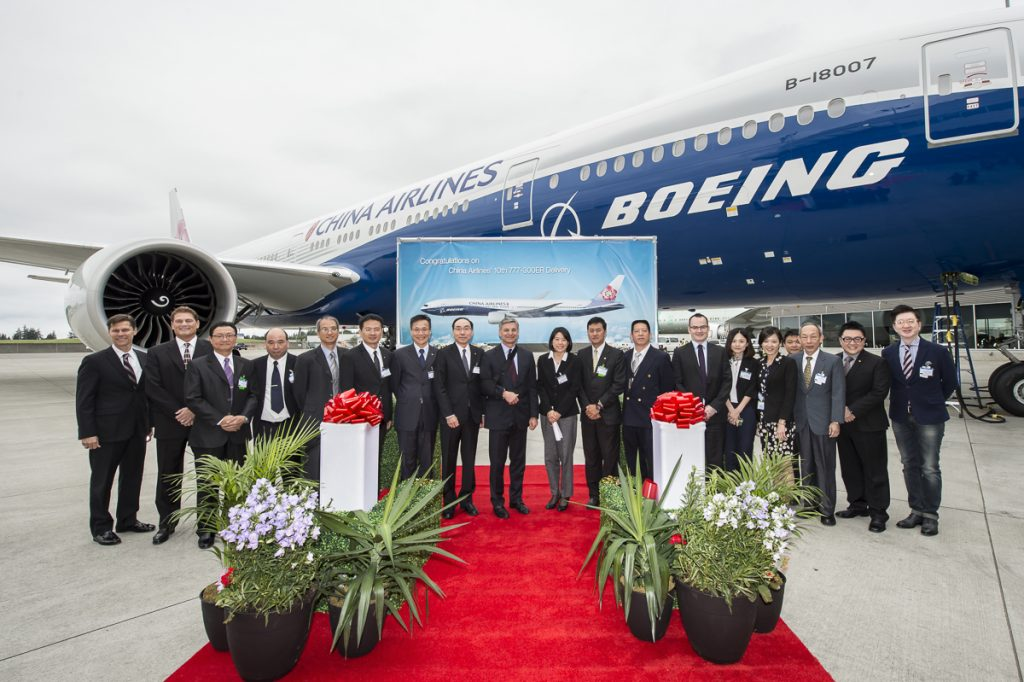 China Airlines (BEJ) Delivery Ceremony