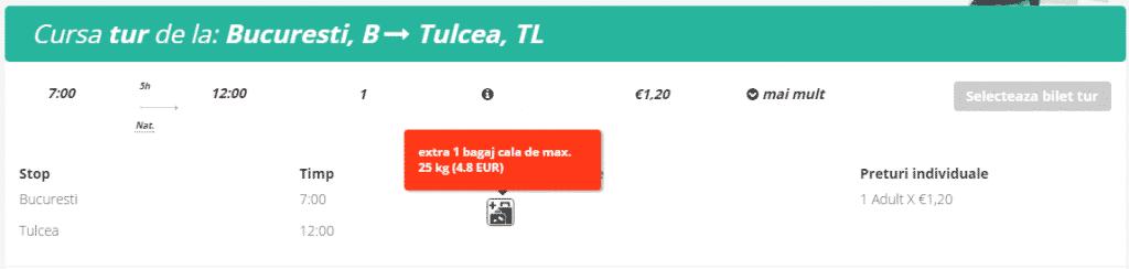 Bucuresti-Tulcea-Memento-Bus