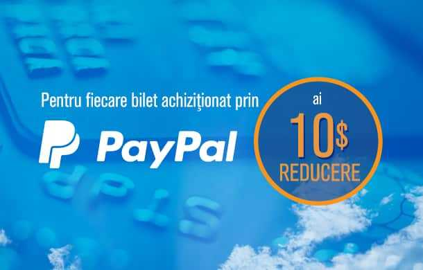 promotion Blue-air, PayPal