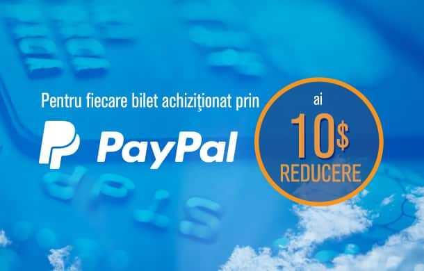 promozione Blue-air, PayPal