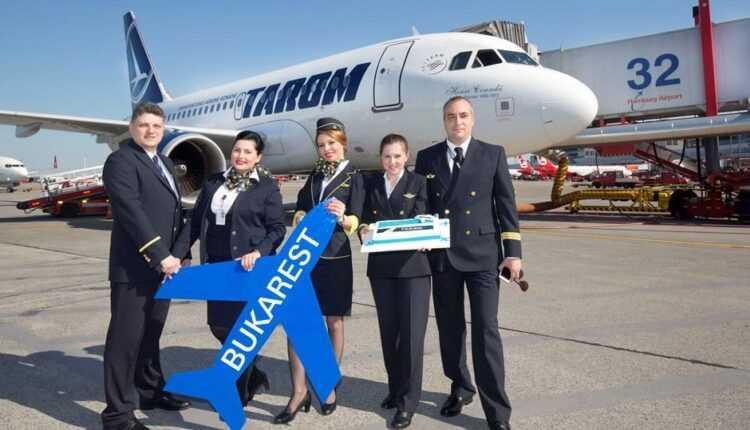 TAROM a inaugurat ruta Bucureşti – Hamburg, factor de încărcare de 75% pe zborul inaugural