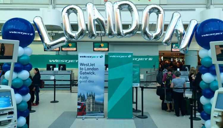 Westjet a inaugurat zborurile între şase oraşe canadiene şi Londra (Gatwick)