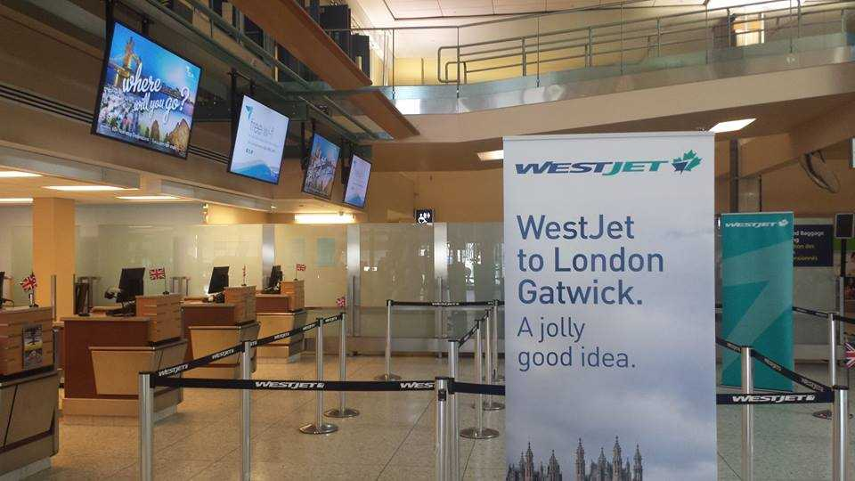 WestJet-London