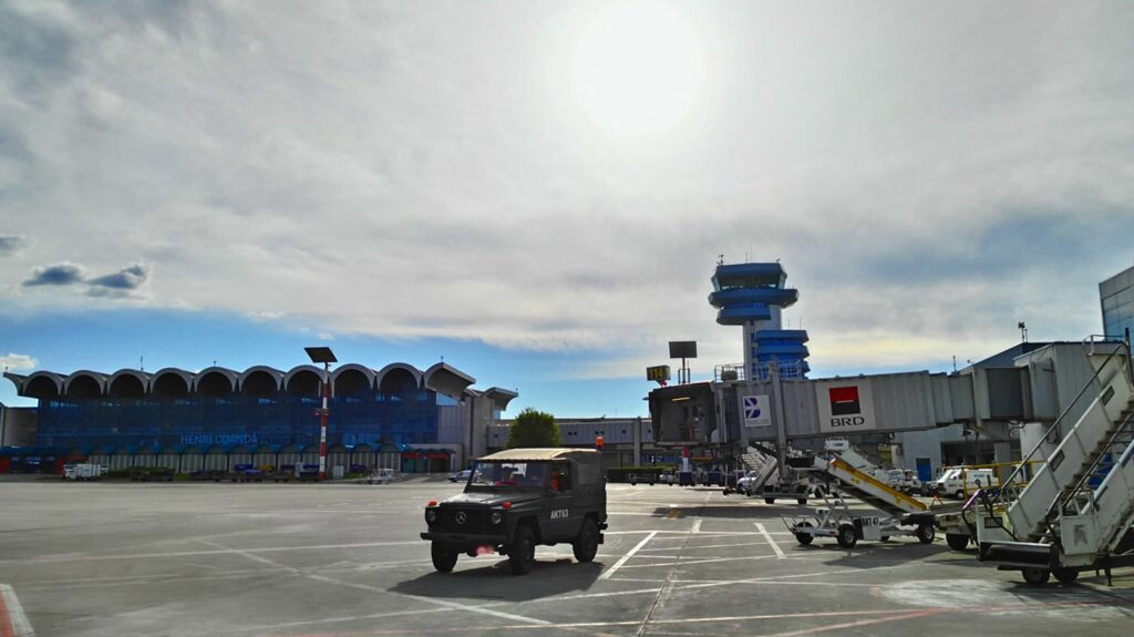 Henri Coanda airport,