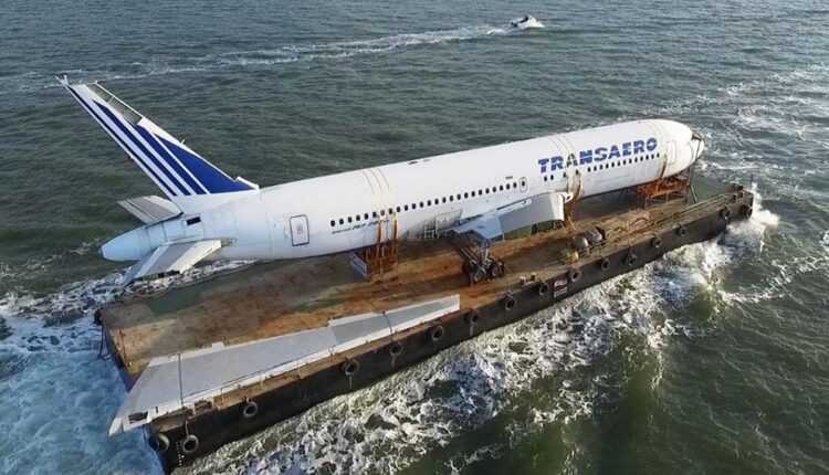 Un Boeing 767-200ER, cumpărat cu 20 000 EURO